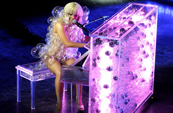 Commit error. Lady gaga bubble dress final